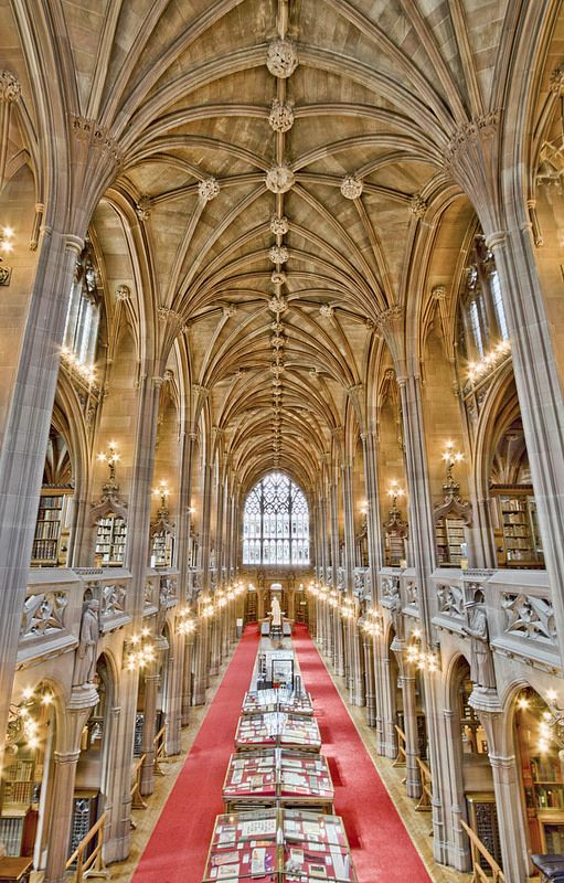 Here is a photograph I took from The John Rylands Library.  Located in Manchester, Greater Manchester, England, UK.