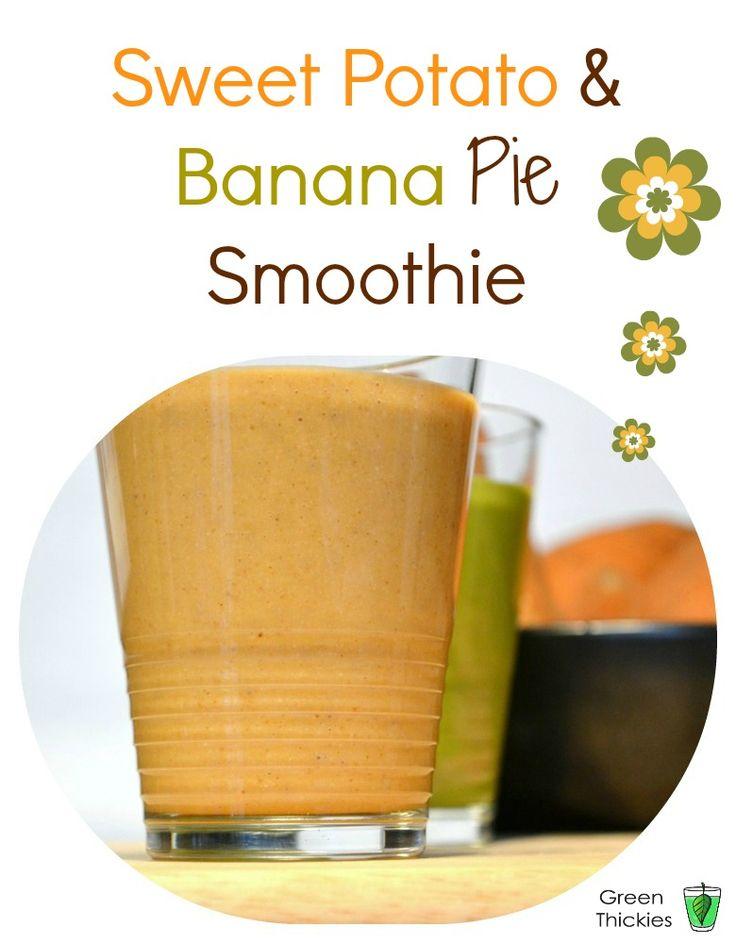 Banana and Sweet Potato Smoothie Dessert