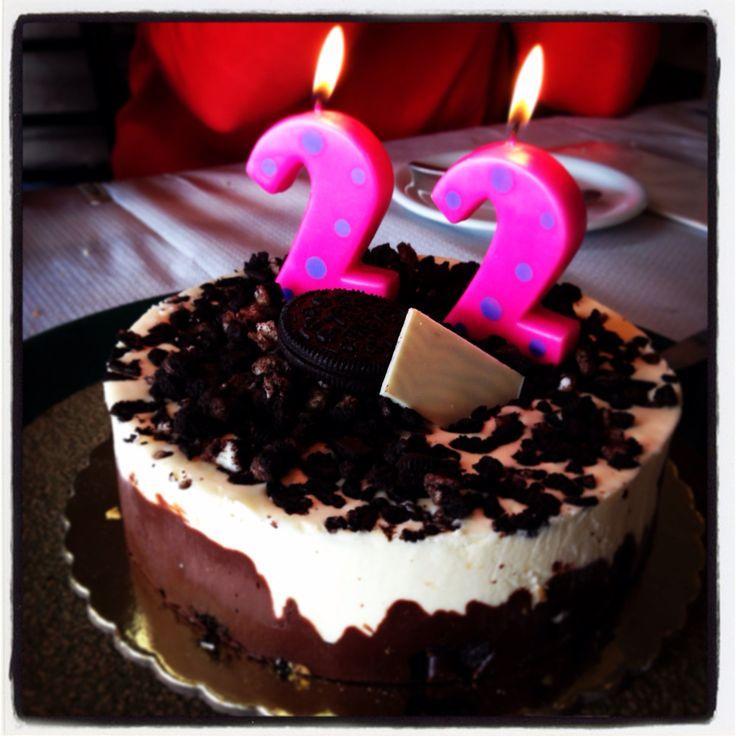 Birthday oreo cake gytheio sweet foodporn