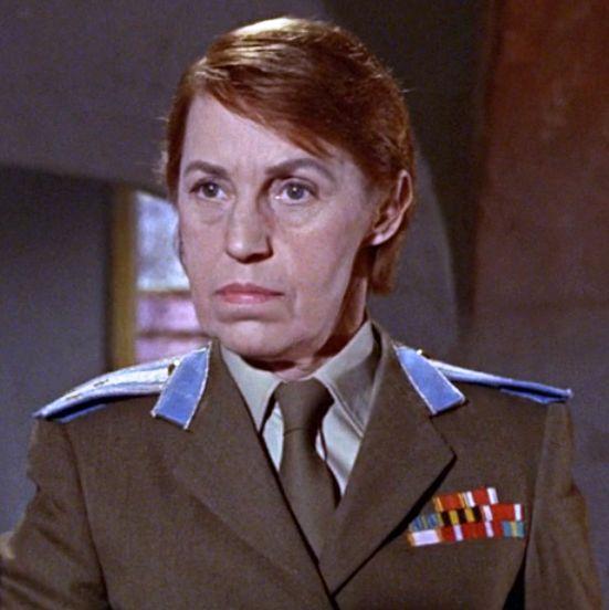 Rosa Klebb (Lotte Lenya) - James Bond villain