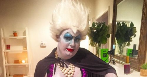 Colton Haynes as Ursula Halloween Costume Surprises Everyone (PHOTOS) | Gossip and Gab