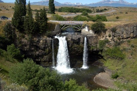 Chacabuco Waterfall in Chile. #SouthAmerica #Cruise
