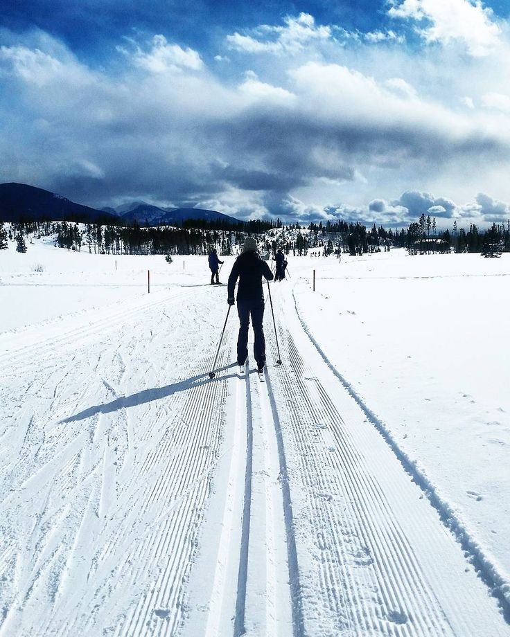 Had a great time taking #free #crosscountry #ski lessons at Grand Lake #Nordic Center this morning! #winterparklife