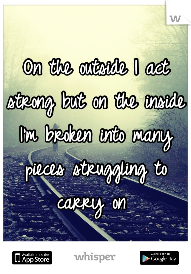 how to find strength to carry on