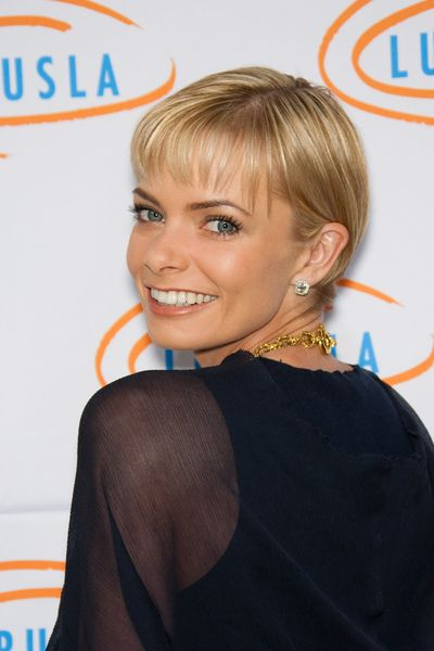 Jamie Presley Hair | At the 7th Annual Bag Ladies Luncheon in Beverly Hills, Jaime Pressly ...