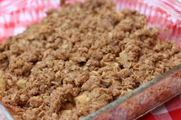 {World's BEST} Gluten Free Apple Crisp Recipe! - Life Made Full