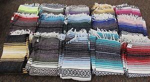 Earth Ragz Indian Blanket 6 ft x 4 ft Blankets Variety of Colors Striped | eBay