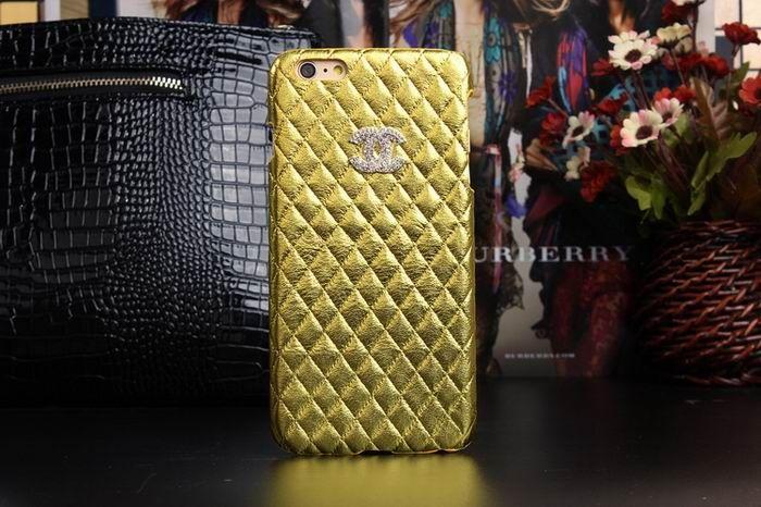 Chanel iphone 6 Case Design Designer Leather Cover Best Golden