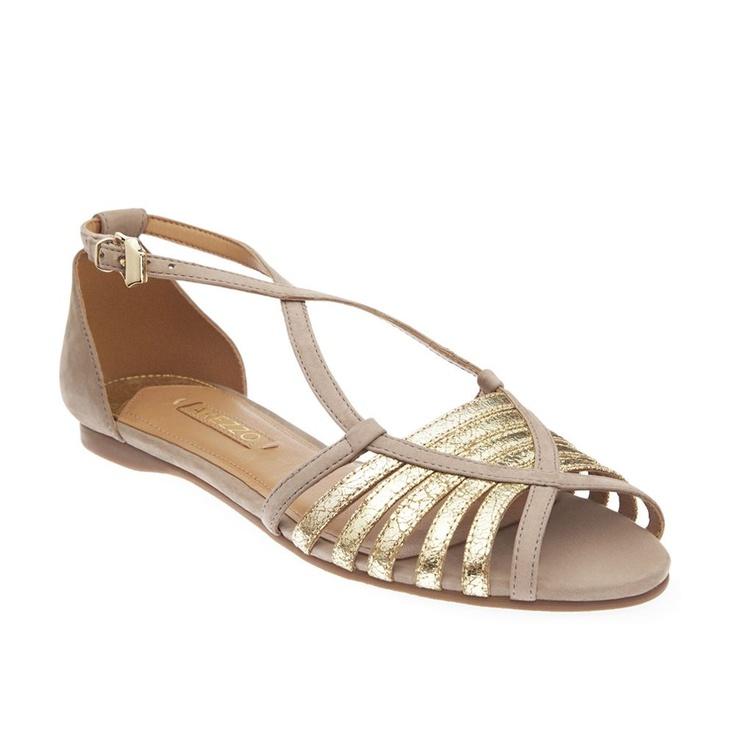 Bronze Metallic Dress Shoes