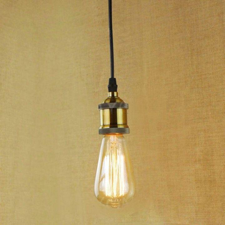 Retro Zavesne Svietidla Su Originalnymi Typmi Stropnych Lustrov V Retro Dizajne Light Bulb Chandelier Edison Light Bulbs Edison Light Bulb Chandelier