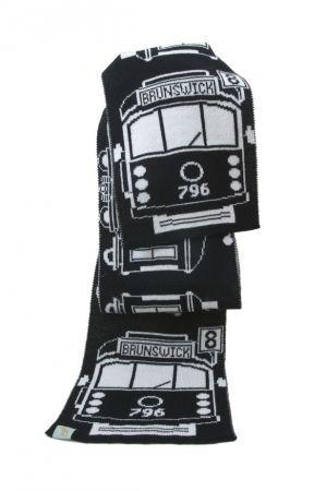Tram I am merino wool scarf - for my man