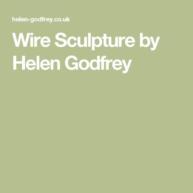 Wire Sculpture by Helen Godfrey