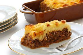 Pastel de Carne Inglés Cottage Pie Te enseñamos a cocinar recetas fáciles cómo la receta de Pastel de Carne Inglés Cottage Pie y muchas otras recetas de cocina.