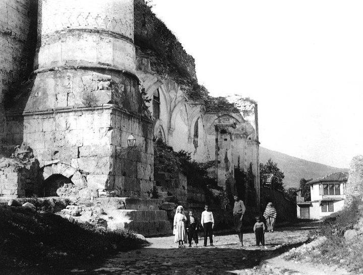 bursa-tophane şahadet cami yıkıntısı 1860