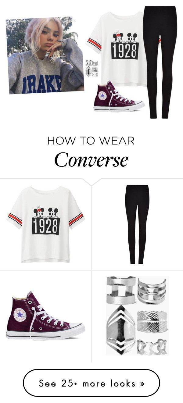 """RTD -Sarah"" by we-are-all-anons on Polyvore featuring Uniqlo, Winser London, Converse and Boohoo"
