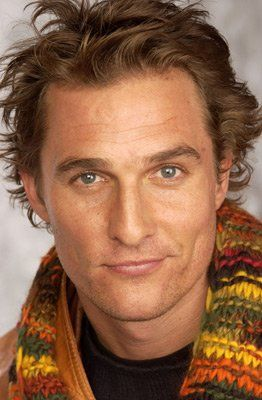 Matthew McConaughey, probably my favorite conservative celeb for obvious reasons. Actually have talked to him on the phone.
