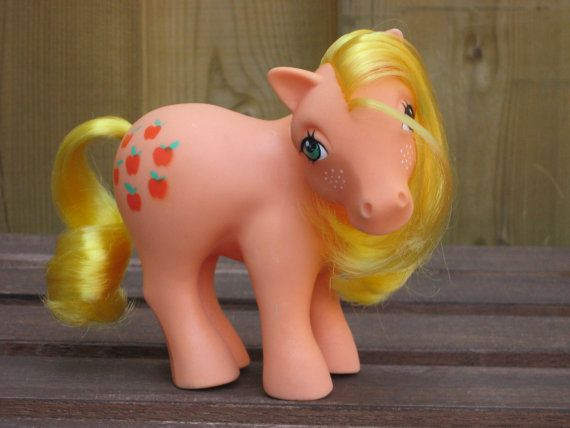 Vintage My Little Pony Applejack by IDreamOfMini on Etsy, $12.00 This was my FAVORITE MLP