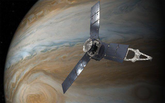 A sonda de US$1 bilhão da Nasa Juno acaba de enviar imagens de Júpiter de tirar o fôlego
