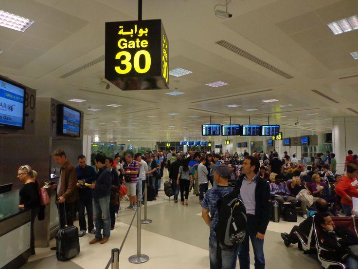 Doha Airport, Capital of Qatar