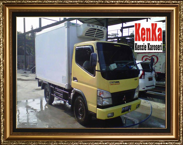 Truck Mitsubishi Box Pendingin – Karoseri Mobil & Truck KenKa