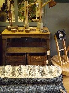 In onze winkel in Barneveld. Meubels, woonaccssoires en lampen in inudstriële en maritieme stijl.