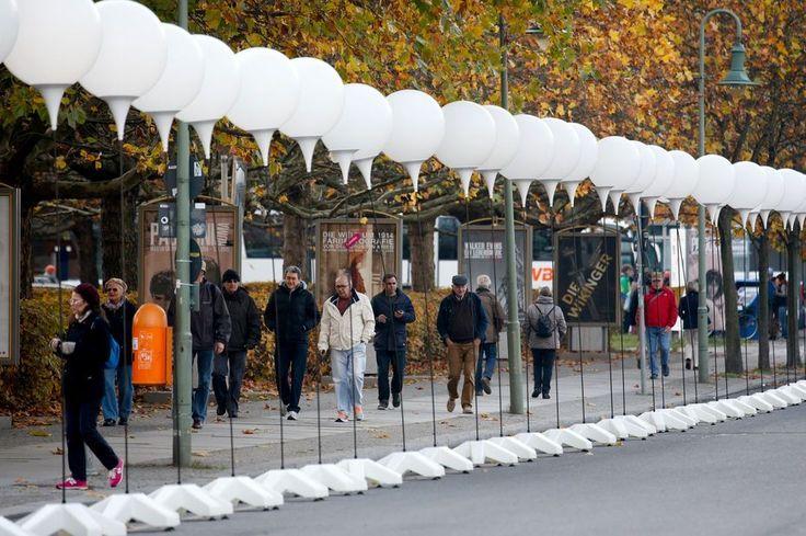 25e anniversaire de la chute du mur de Berlin