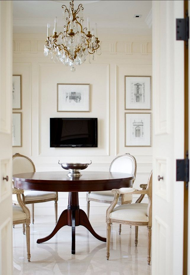 Elegant Traditional Interiors HomeDecor InteriorTraditional Dining RoomsContemporary