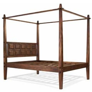 Some day I'll have a canopy bed. This is a bit expensive though... Indonesian Canopy Bed, $1498