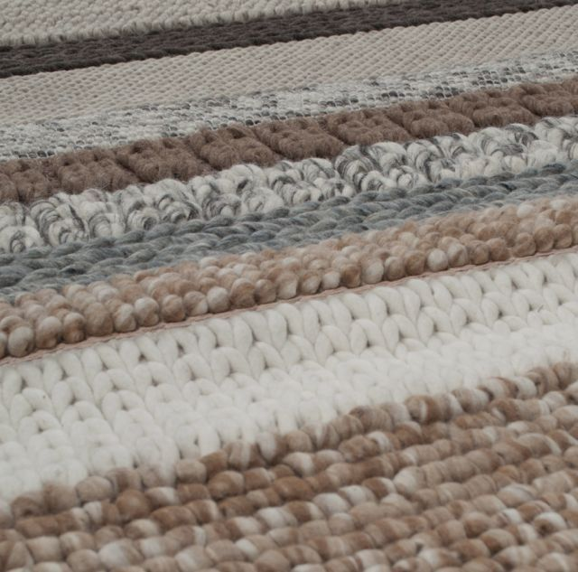 Vloerkleed Norway 200x300 beige detail