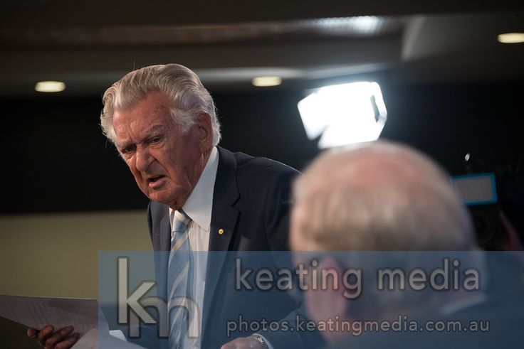 """Bob Hawke, """"Reasonably big, Gareth. But I don't hammer the point. I leave it to you to reconsider and think."""" #auspol"""