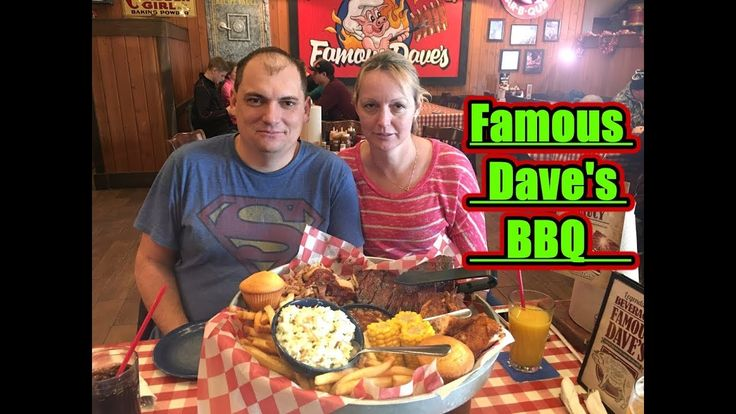 Famous Dave's BBQ Rudi's NORTH AMERICAN ADVENTURES 12/30/17 Vlog#1298 - YouTube