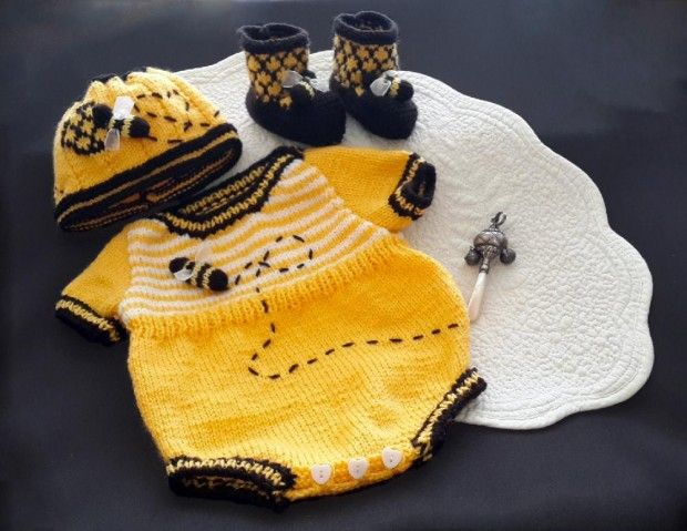 25+ best ideas about Knitting patterns baby on Pinterest Knitted baby booti...