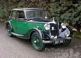 1936 Riley 1½ Adelphi Saloon