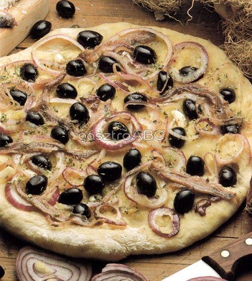 Spanyol pizza | Receptek