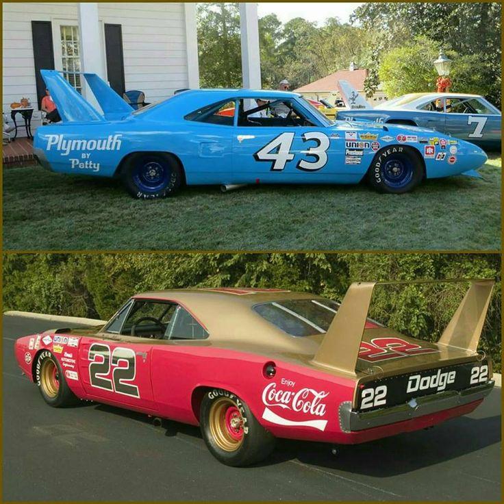#43 Richard Petty's (Plymouth SuperBird) or #22 Bobby Allison's (Dodge Daytona)?