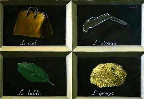 The interpretation of dreams - Rene Magritte 1927