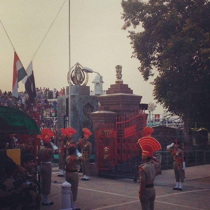 Wagah Border ceremony #india #pakistan #wagah #wagahborder #border #military #coreography #flag #asia #nations #worlderlust #travel #traveling #instatravel #instago #instagood #photooftheday #instapassport #instatraveling #mytravelgram #travelgram #travelingram #igtravel