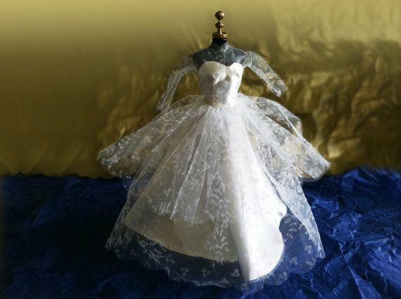 Mattel Barbie Wedding Dress 972 PAK circa by RedRavenCollectibles, $49.00