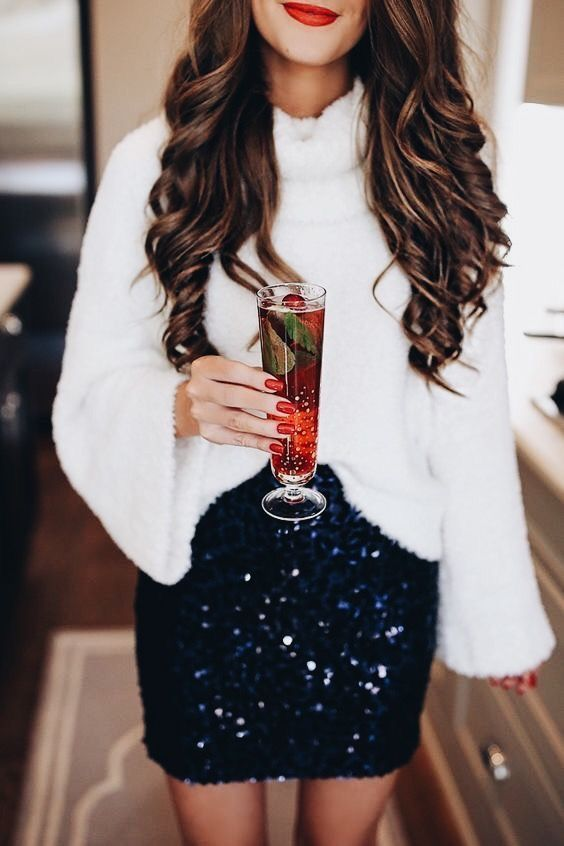 Casual chic, holiday style