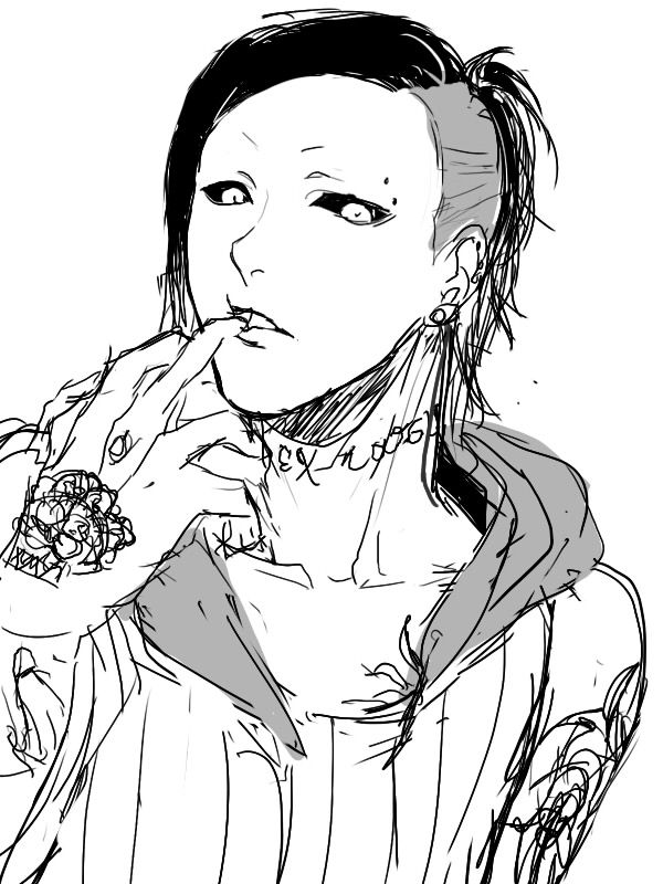 I can never read Tokyo Ghoul, or watch any more of it if they come out with other seasons because I'm pretty sure it turns out Uta is a villain, and I can't handle that.