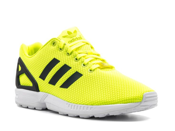 Adidas Zx Flux Electric Yellow