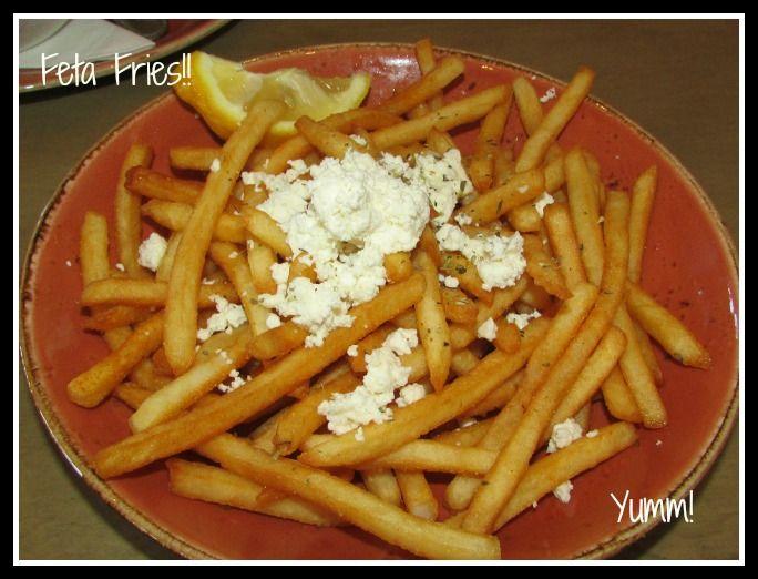Feta Fries! | Favorite Restaurants | Pinterest | Feta