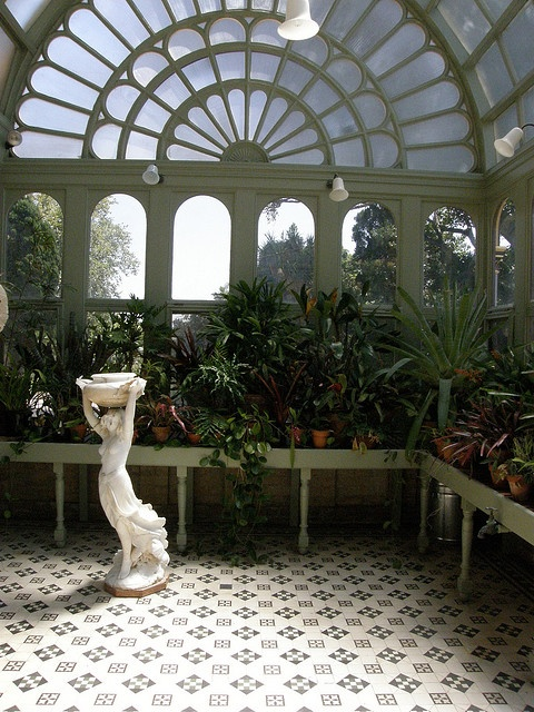 The Ripponlea Conservatory, while not a shed I can make this work =D