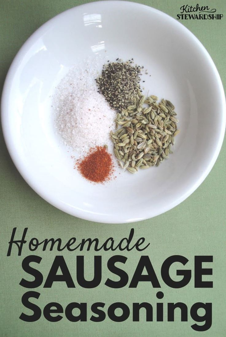 This easy homemade sausage seasoning recipes can be used with any meat. Plus you avoid MSG, sugar, and chemical additives by making homemade Italian or ...