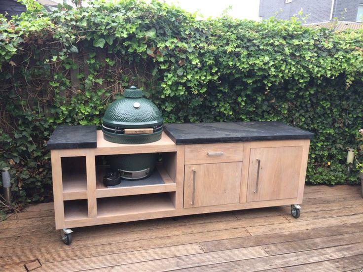Outdoor-Küche Big Green Egg nach Maß