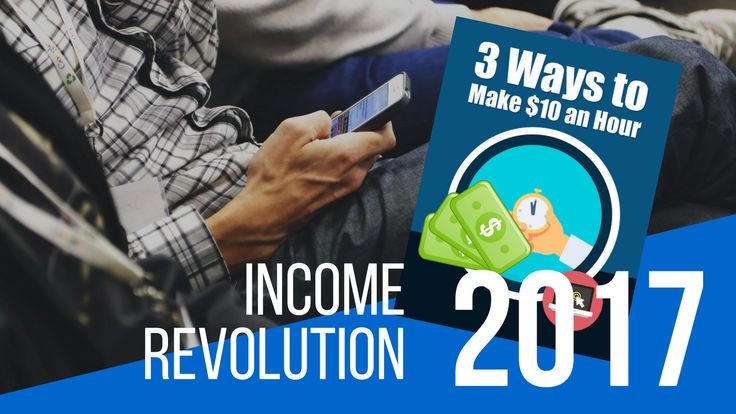 Learn how to make $10 per hour then scale up to making $50+/hour online fast.