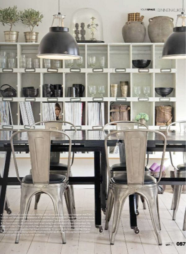 xavier pauchard french industrial dining room furniture.  furniture design crush on the xavier pauchard chairs to french industrial dining room furniture e