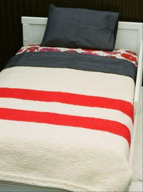 Simplicite, confort et beaute! affinitamoderne.com - Hand-Made Blanket -
