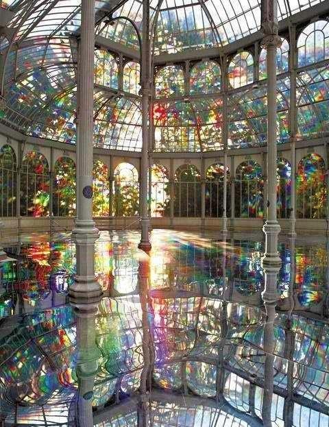 Palácio de Cristal -Madri - Espanha