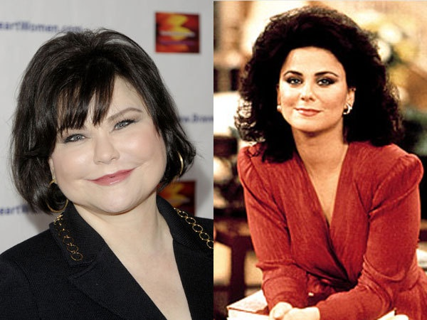118 best designing women images on pinterest designing for What does delta burke look like now
